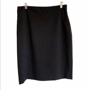 T Tahari Bellona Skirt in Black Size 14